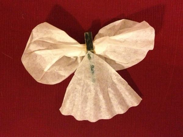 Coffee Filter Angel Example